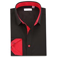 black shirts for men