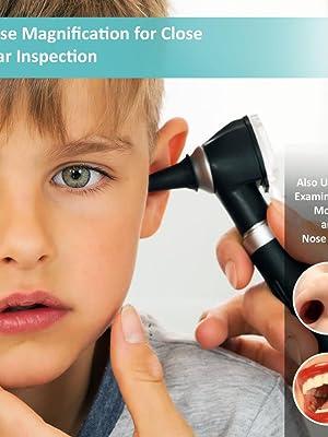Otoscope for kids ears
