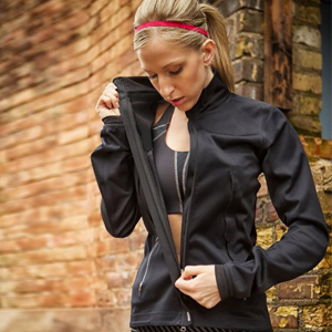 women softshell jacket