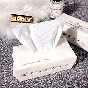 cotton facial tissue