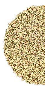 alfalfa seeds, food to live