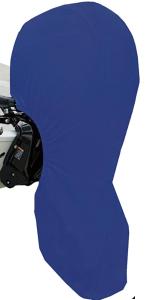 600D motor cover blue