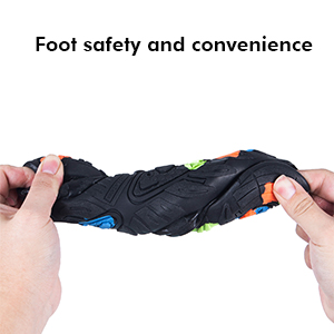 Foot safety and convenience