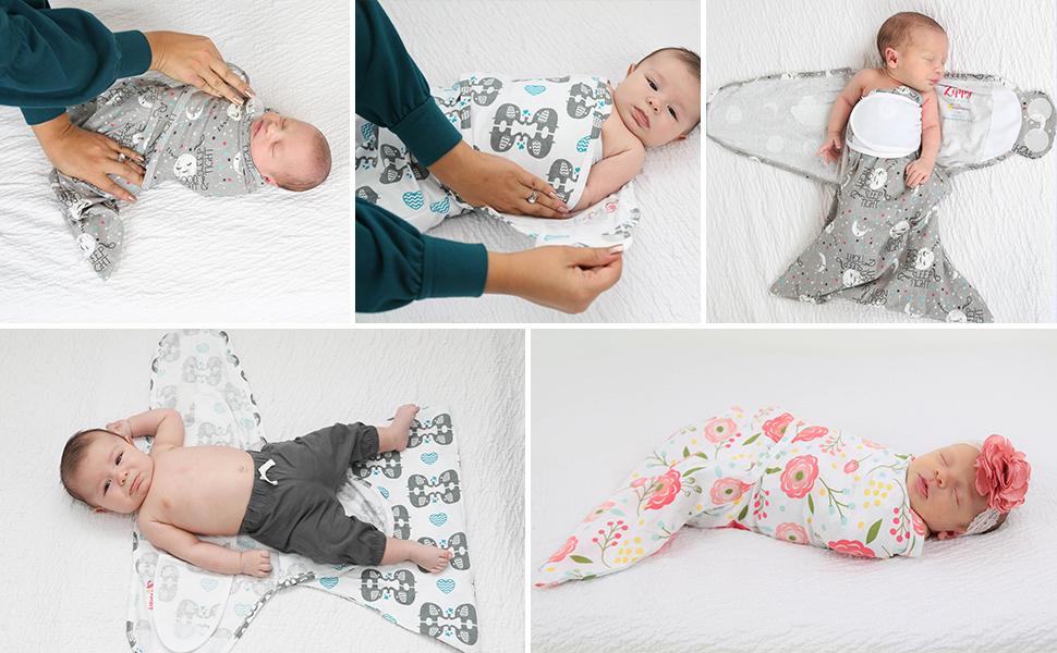 newborn sleepsack swaddle blanket girl baby girls