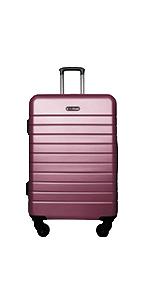 luggage set  lightweight hard case  spinner suitcase hybrid & company durable luggage