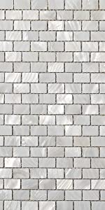 Soulscrafts Pure White Oyster Mother of Pearl Square Shell Mosaic for Kitchen Backsplashes-10