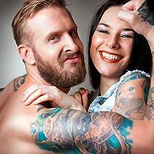 dr pickles tattoos mad rabbit hustle soap helper badger tatoo aquaphor herbal salve viking tatto