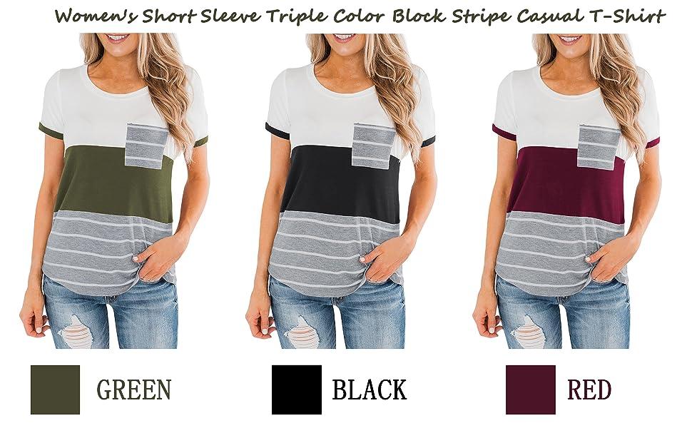 Women's Casual Short Sleeve T-Shirt