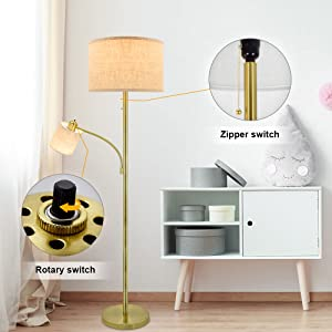 mother - dauther floor lamp
