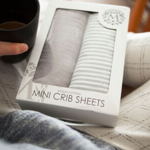 mini crib sheets gift baby registry great shower present pack n play