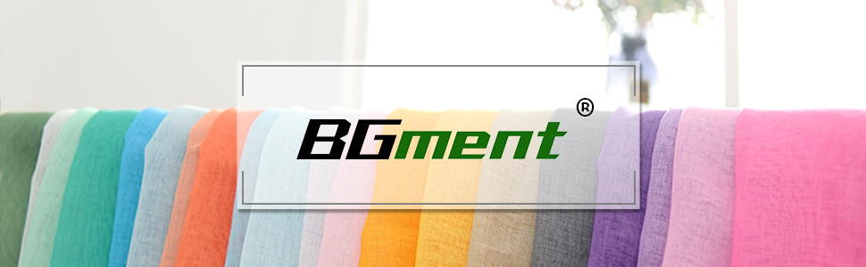 bgment sheer curtains