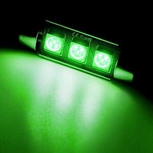 Green interior LED