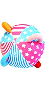 letters words numbers educational tool fabric soft play ball finger training activity learning toy