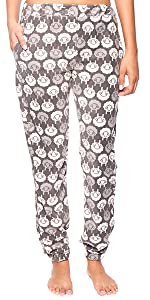 Womens Plush Winter Lounge Pants