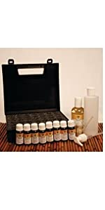 Lotus Touch 14-Piece Aromatherapy Starter Package - with Oils, Case and more