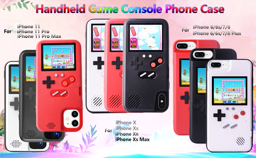 handheld game console phone case for iPhone