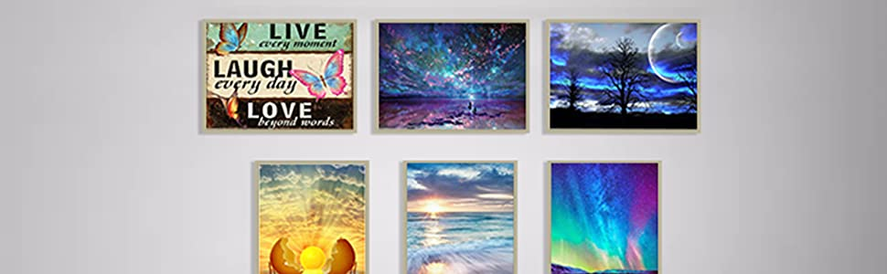 DIY 5d diamond paintings for adults