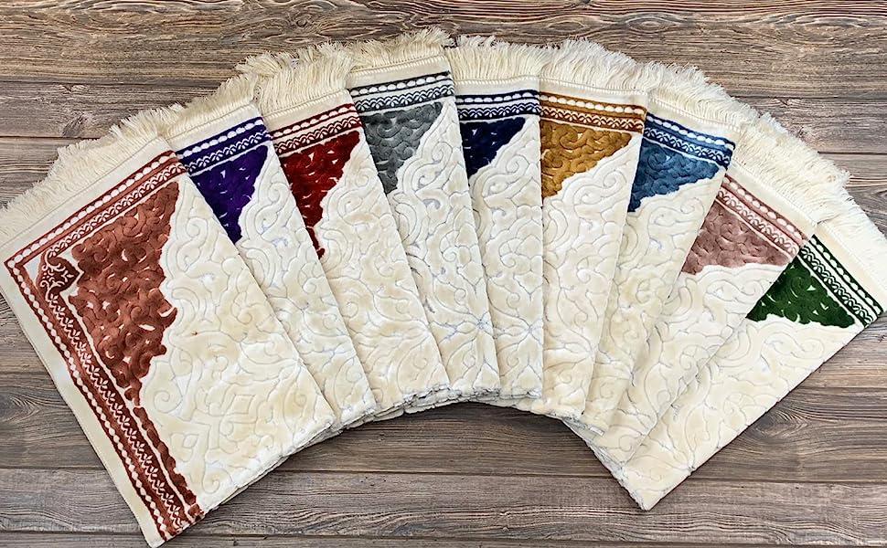 Modefa Sina Turkish Islamic Prayer Rug Janamaz Sajjadah Seccade carpet