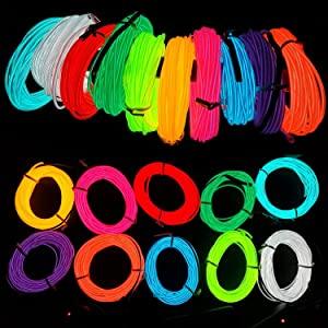 10 colors el wire