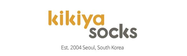 kikiya socks brand logo