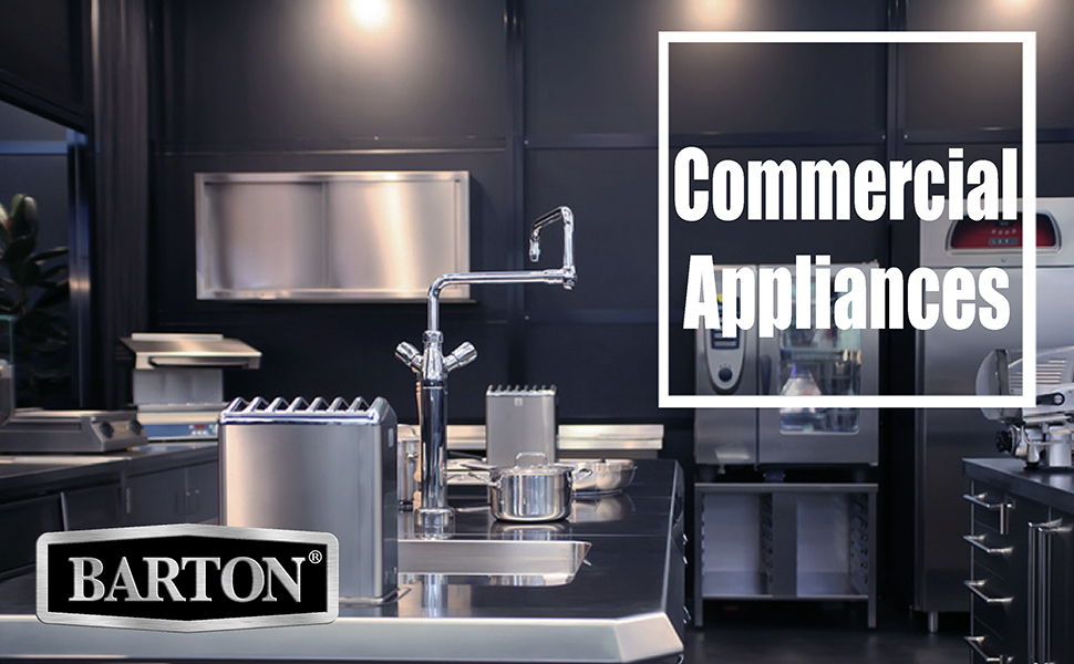 commercial appliances for restaurant troubleshooting books kitchen appliances casters dolly grade