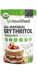 Organic Erythritol Granular