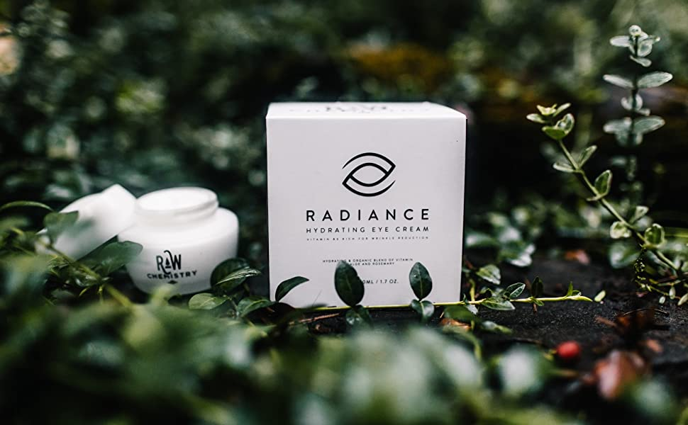 rawchemistry radiance eye cream organic eye  cream natural night cream anti aging retinol