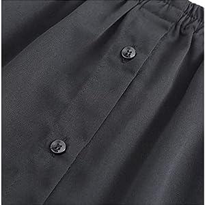 Women's Half Slips Elastic Waist Layering Fake Top Lower Sweep Unisex Teen Casual Shirt Hem Basic