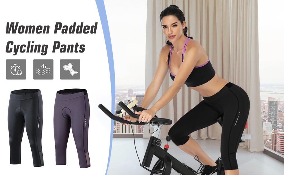 Santic cycling pants for women