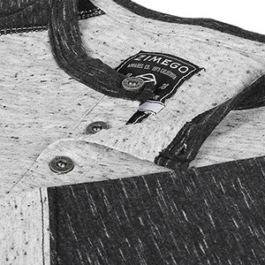 3/4 sleeve casual activewear streetwear ootd henley leisure baseball basketball football color block