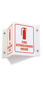 Fire Extinguisher Inside Projecting