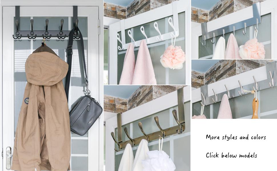 over door hooks coat hanger rack