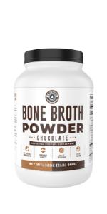 Chocolate Bone Broth Protein Powder 2lb