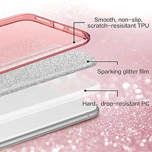 iphone 11 pro case glitter 5.8 inch