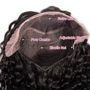 lace front wigs human hair pre plucked