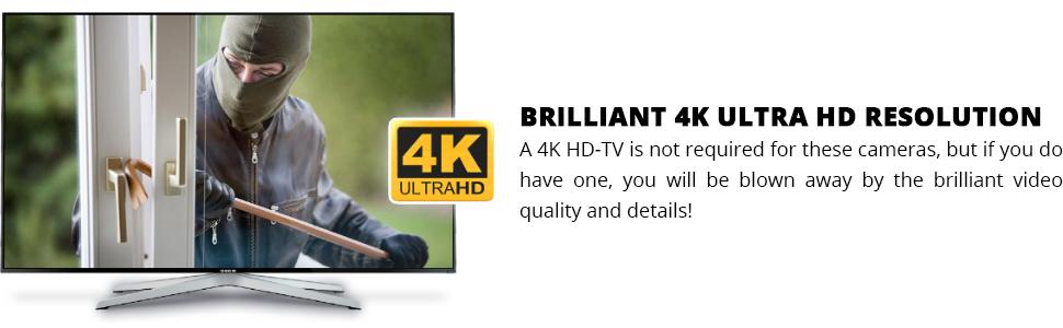 4K Ultra HD Resolution