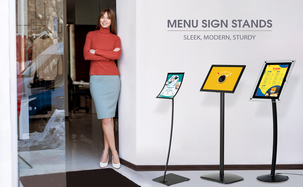 Menu Boards Stands Group