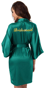 wedding robe for women