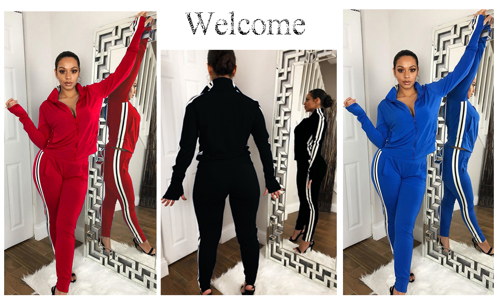 tracksuit sets for women 2 piece