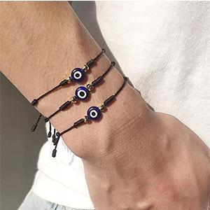 Evil Eye Bracelets for Women Men