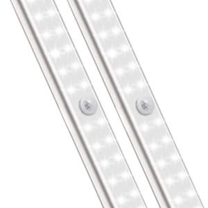 under cabinet kitchen lights lighting wireless light closet recharge battery powered counter white