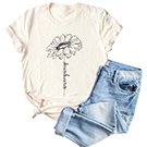 Sunflower Graphic Shirt for Women