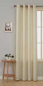 butter yellow moroccan curtains for living room