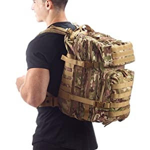 Evertac backpack multicam