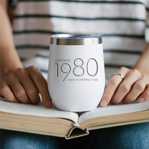 birthday gifts women tumbler men gift decorations ideas oz stainless steel old steels mug vintage