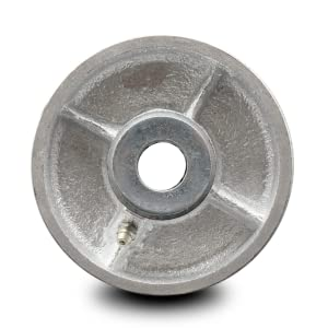 Service Caster, semi-steel cast iron wheel