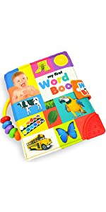 mamma kiddie baby infant toddler cloth book fabric book my first word book quiet book learning toy