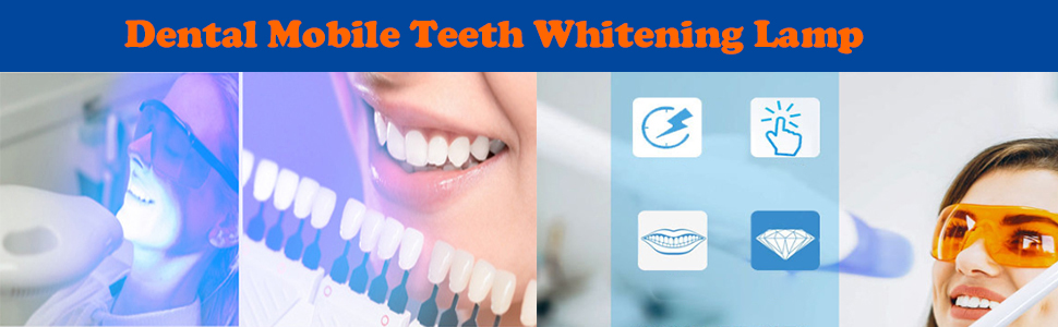 Dental Chair Teeth Whitening Bleaching Lamp