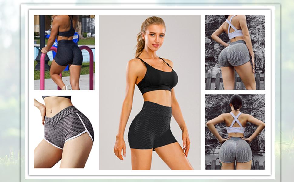 tik tok leggings for women tictoc stretch pants tiktok leggings  tiktik leggings  scrunch butt short
