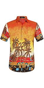 Men's Coconut Tree Shirt
